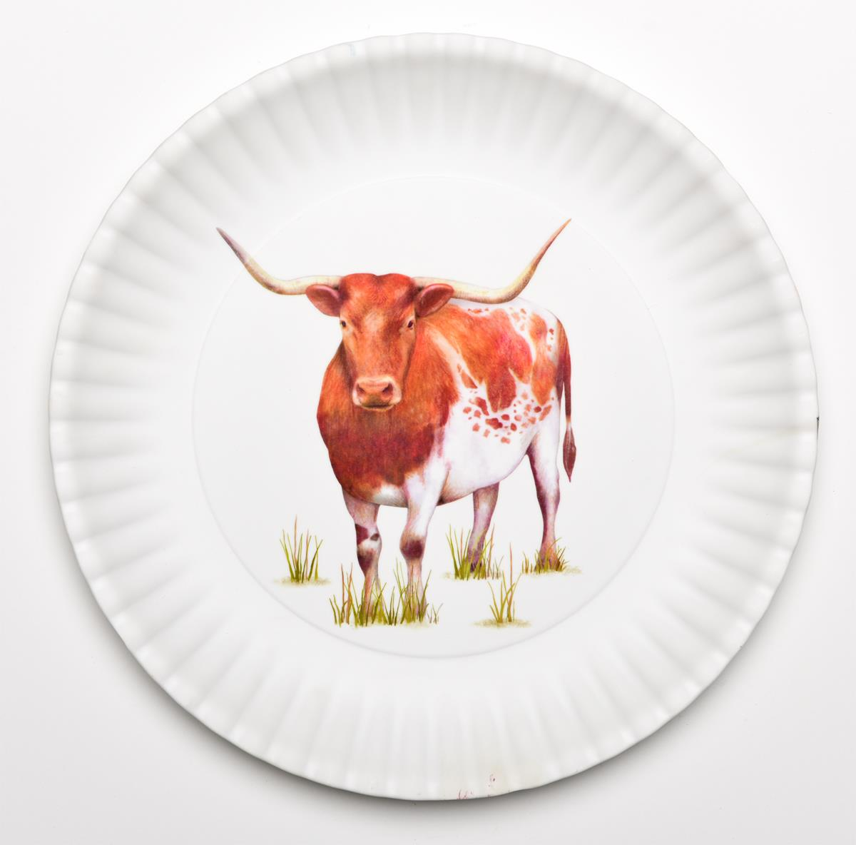 Longhorn 16 Quot Melamine Serving Platter Weir S Furniture