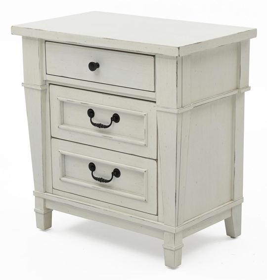 stoney creek threedrawer nightstand