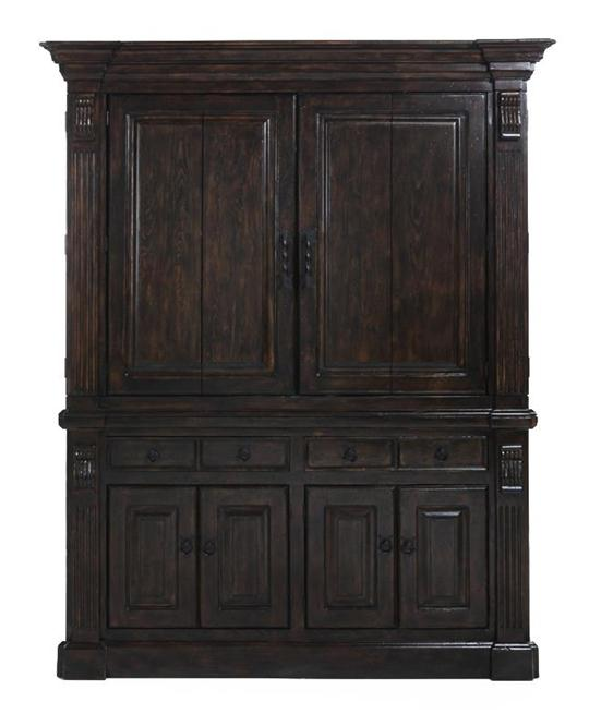 Entertainment Armoire, Tuscany Finish