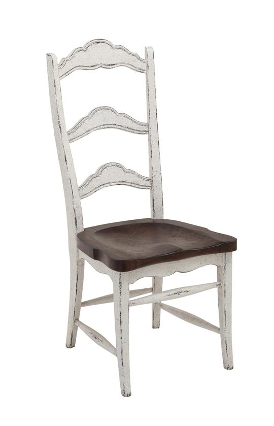 Colonial Side Chair Dark Rustic Pecan Weir 39 S Furniture