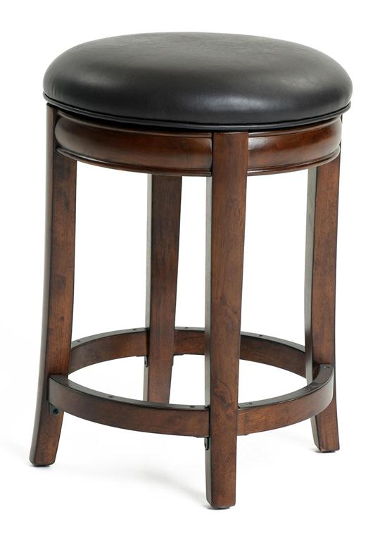 Kinsey Faux Leather Stool 24 Ruby Red Weir 39 S Furniture