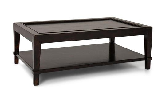 Arturo Coffee Table, Dark Walnut Finish