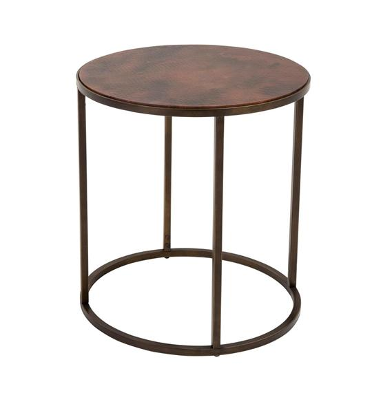 Copper Top Nesting Coffee Tables Weir 39 S Furniture