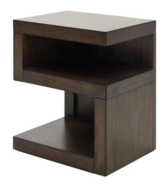 Modern Loft S Shaped Nightstand