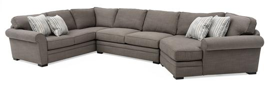 Tybalt Sectional  sc 1 st  Weiru0027s Furniture : bernhardt foster sectional - Sectionals, Sofas & Couches