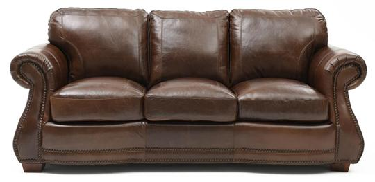 Austin Top Grain Leather Sofa