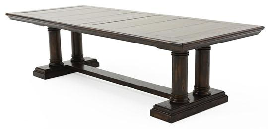 tuscany dining table chestnut weir 39 s furniture