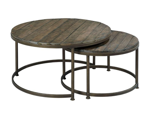 Round Nesting Coffee Tables