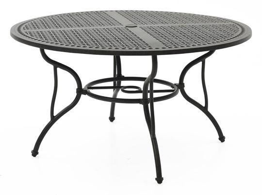 Scottsdale Round Umbrella Dining Table