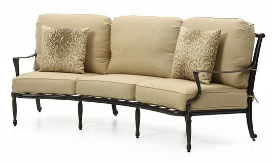 Bel Air Curved Sofa