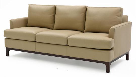 Nob Hill Top Grain Leather Sofa